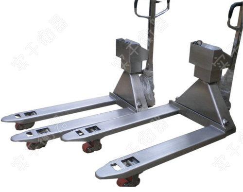 2.5吨液压叉车电子称带微型打印