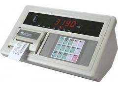 A9带打印称重显示器