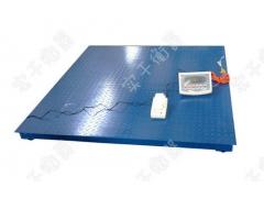 带打印5吨电子小地磅 上海5T电子地秤厂家
